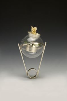 JIEN LEE-USA conservation II Silver, Plastic, Seed