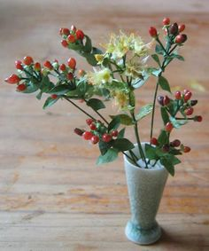 St John's Wort, miniature flowers French