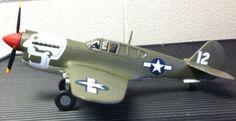 1/40 scale P-40E.