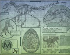 """New Jurassic World Indominus Rex information prints available from Joel Davis! Check out @jurassicparklegacy for the full scoop! #JurassicWorld…"""