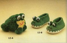 Patrones para Crochet: Botitas Infantiles de Crochet