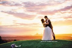 Newcastle wedding, Jacquelynn Brynn Wedding Photography, Sunset portraits, wedding flowers