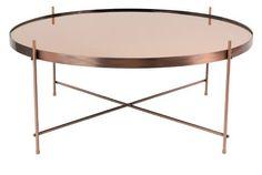 Konferenčný stolík CUPID od Zuiver na Roomfactory. Copper Frame, Lounges, Cupid, Coffee, Furniture, Home Decor, Mirror Glass, Copper Photo Frame, Kaffee