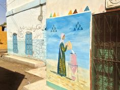 Nubian Wall Painting