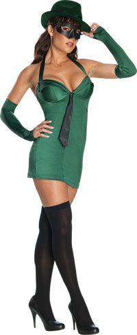 Green Hornet Sexy Costume - Green Hornet Costumes