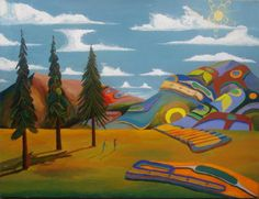 first nations art - lawrence yuxweluptan