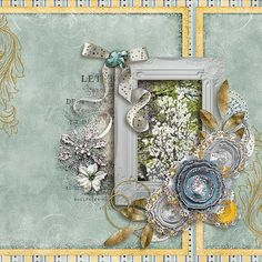 Layout of the Day 12 April 2016 - Gotta Pixel created with Winter Winds by Silvia Romeo