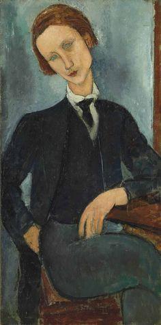 AMEDEO MODIGLIANI (1884-1920) MONSIEUR BARANOWSKI                                                                                                                                                                                 More