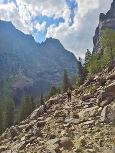 Death Canyon Hiking Options - Grand Tetons National Park.