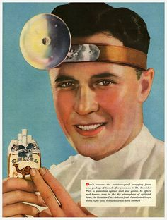 That's right folks, you can now get all the satalite tv channels straight to your head!  Oh and have you heard? cigarettes are now officially healthy for you again