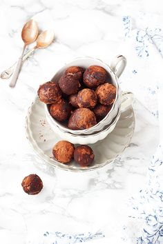 Receta buñuelos de chocolate