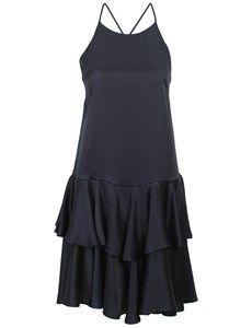 Beautifull dress from Danish Baum und pferdgarten. Adia stropkjole med flæser