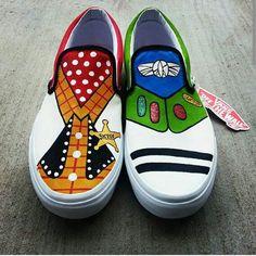 Toy Story Vans DIY