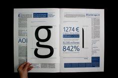 Rokel type specimen | The Book Design Blog