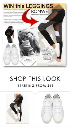 """Romwe contest"" by tanja133 ❤ liked on Polyvore featuring Yves Saint Laurent and Folio"