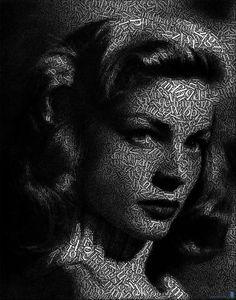 Lauren-typography-portrait. http://www.atulperx.com/inspiration/80-amazing-examples-of-typography-portrait-for-inspiration/