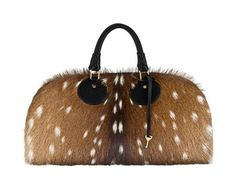 A gym bag made out of Fawn hide! Sick!