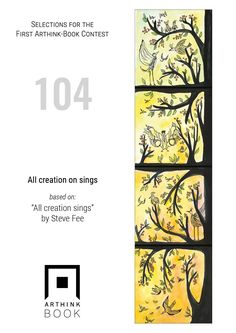 "#VinylArthink contest  entry 104    ""All creation on sings""  based on:   ""All creation sings""   by Steve Fee    https://www.youtube.com/watch?v=xUbQyebi9cw    #arthinkeditions #arthink #contest #entry #art #illustration #sing #stevefree #steve #free #bird #creations"