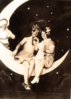 Brother and Sister on a Paper Moon