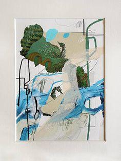 "Saatchi Art Artist Marijah Bac Cam; Collage, ""Letters From S To M ~9172~ [21358SMart / Sander Steins & Marijah Bac Cam] "" #art"