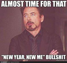 new year, new me. hahaha