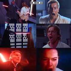 Star Wars is the only fandom in which characters actually stay dead. Everyone else comes back to life.