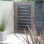 Out of all the cedar fence gate designs out there, this gorgeous, rustic wooden fence is the perfect touch as an entranceway to the garden! Fence gate ideas and design. Wooden Fence Gate, Fence Gate Design, Fence Doors, Cedar Fence, Wood Gates, Wood Fences, Diy Fence, Fence Gates, Rustic Fence