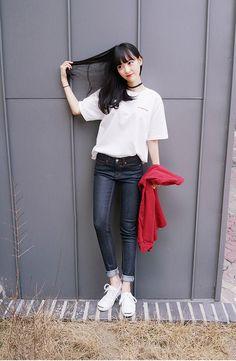koreanfashionotes - - korean fashion - ulzzang - ulzzang fashion - cute girl - cute outfit - seoul style - asian fashion - korean style - asian style - kstyle k-style - k-fashion - k-fashion - asian fashion - ulzzang fashion - ulzzang style - ulzzang girl