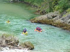 Rakúsko - Rafting a zábava na rieke Salza | EURORAFTING - divoké zážitky na vode Rafting
