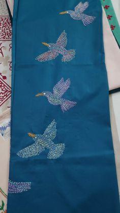 Running Stitch, Hand Embroidery, Design