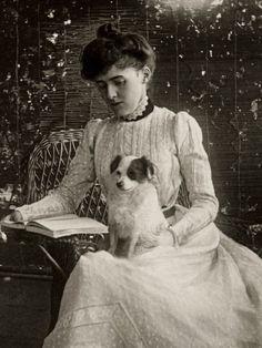 Edith Wharton e seu companheiro de leitura e escritos