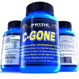 awesome #1 Fat Burner – PRIDE C-GONE – All Natural Non-Stimulant Carb Blocker and Fat Absorber – Satisfaction Guaranteed – Best Weight Loss Supplement with Chromium Picolinate, Acetyl-L-Carnitine, L-Glutamine, Alpha Lipoic Acid, Gymnema Extract and Vanadyl Sulfate – Helps Fight Sugar Cravings and Improves Muscle Tone and Definition.