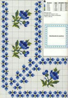 Borda de flores