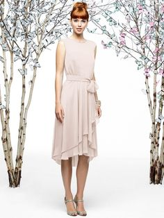 Shop Lela Rose Bridesmaid Dress - Lr201 in Crinkle Chiffon at Weddington Way. Find the perfect made-to-order bridesmaid dresses for your bridal party in your favorite color, style and fabric at Weddington Way.