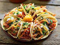 Sorprende a todos con esta receta de #tacosalpastor para que prepares en esta #fiestamexicana