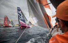 La VolvoOcean Race, c'est parti ! Onboard Team Alvimedica #2014 #VolovoOceanRace  #Go by A Ross   www.scanvoile.com