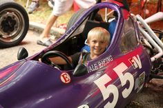 Pittsburgh Vintage Grand Prix 2012. The racers love letting the kids hop in the cars