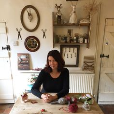 Here I am in my domain! Mollie Makes, White Cottage, Awards, Gallery Wall, Room, How To Make, Handmade, Home Decor, Bedroom