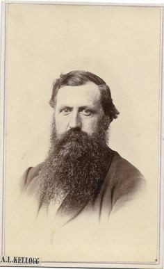 The Back Of CDV Cabinet Card Photo States Dr Martin Tom Photographers Name Is A Kellogg No Location Noted