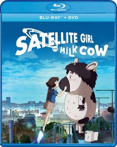Satellite Girl and Milk Cow Blu-ray/DVD contains a beautiful animated film from South Korea directed by Chang Hyung-yun. Funny Movies, New Movies, Disney Movies, Rocket Shoes, Lupin The Third, Yoo Ah In, Astro Boy, Movie Releases, Finding Love