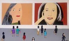 Alex Katz - Google Search Alex Katz, Original Paintings, Original Art, Warhol, Woman Painting, Artwork Online, Saatchi Art, Pop Art, Family Guy