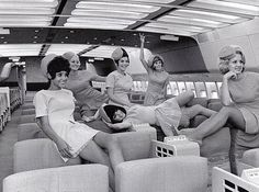 Stewardesses of Delta Airlines (70's)