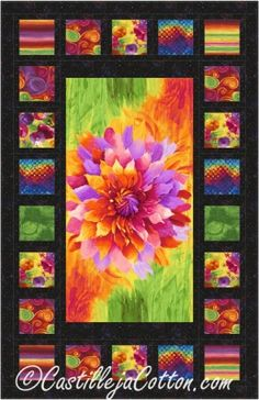 Free Panel Quilt Patterns Fabric Panels Pinterest