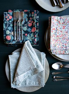 Running Stitch Napkins | The Purl Bee