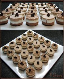 Learn to Make Italian Food Finger Food Desserts, Mini Desserts, Finger Foods, Delicious Desserts, Dessert Recipes, Mousse, Garlic Chicken Recipes, Chocolate Dreams, Pastry Cake