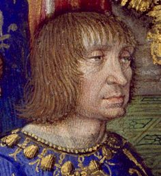 Louis XII of France, in his younger years before marrying Mary Tudor. Louis married Mary in 1514, when he was 52 and she was 18. Their marriage lasted just three months, ending when he died in January the following year. Mary was then free to choose her husband; she chose Charles Brandon.