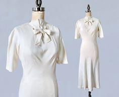 Selten MADELEINE VIONNET Designerkleid der von GuermantesVintage