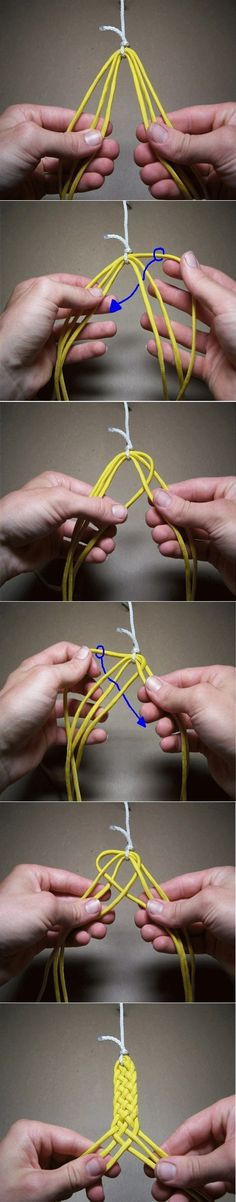 How to braid bracelet (simple)