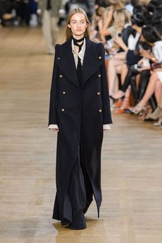 Chloe... NAVY RANKS  Pea coats, Breton stripes, gold buttons and plenty of navy are behind this season's admiral chic.