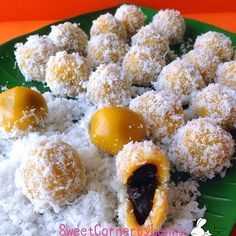 Cuisine Paradise | Singapore Food Blog | Recipes, Reviews And Travel: Pumpkin Red Bean Balls vs Gula Melaka Steamed Cake with Sweet Potato